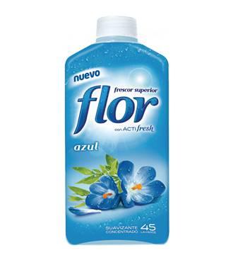 Suavizante flor azul concentrado