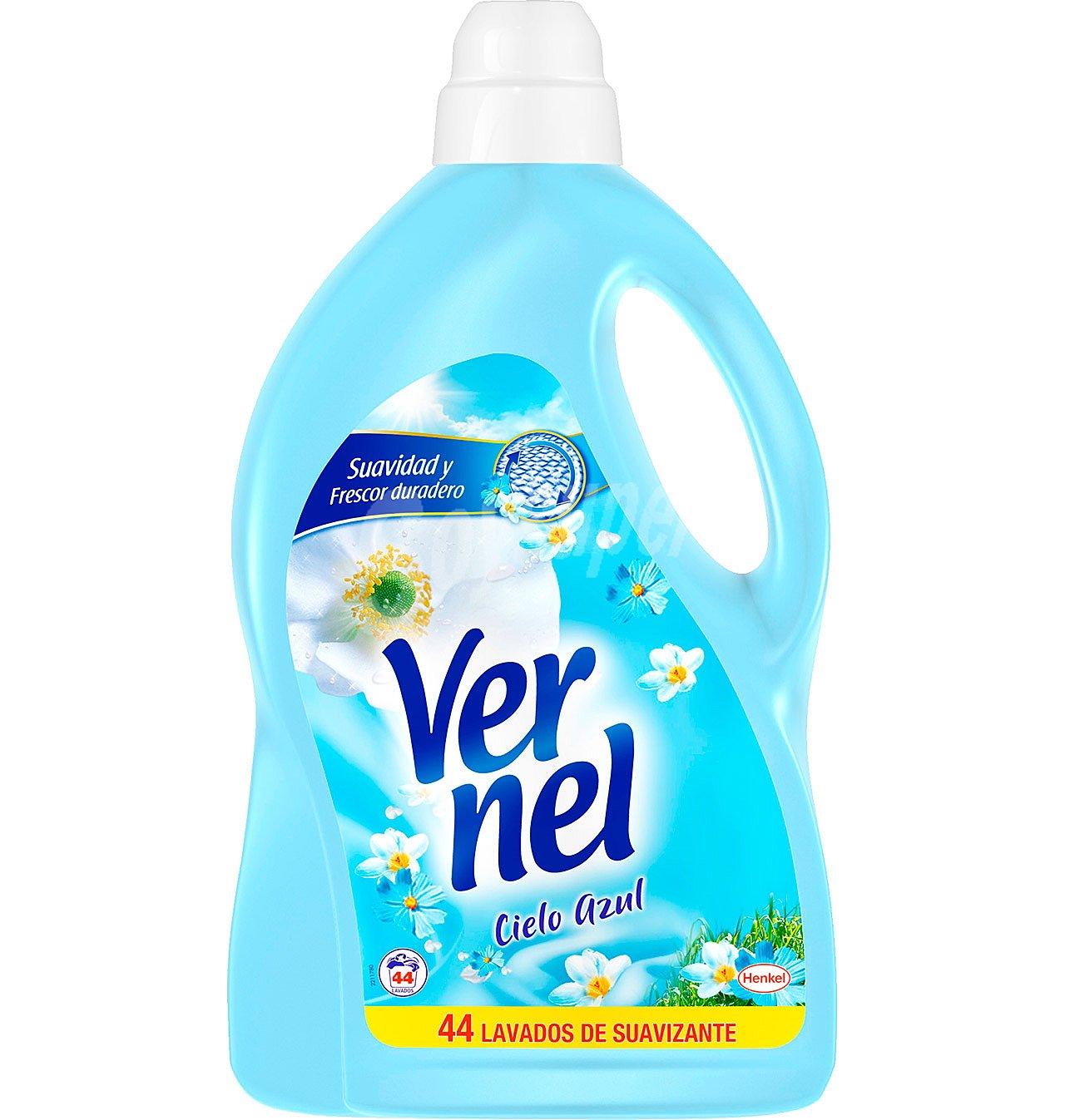 Suavizante Vernel Cielo Azul44 lavados