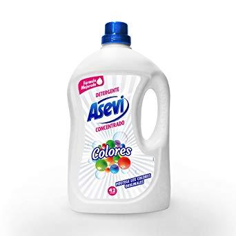 Detergente Asevi Gel Colores..Droguería online,venta de productos de limpieza de las mejores marcas.Líderes en artículos de limpieza.