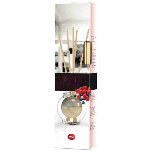 Ambientador Mikado Frutos Rojos.Droguería online,venta de productos de limpieza de las mejores marcas.Líderes en artículos de limpieza.