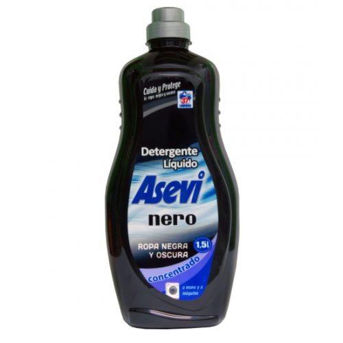 Detergente Asevi Gel Negro.Droguería online,venta de productos de limpieza de las mejores marcas.Líderes en artículos de limpieza.
