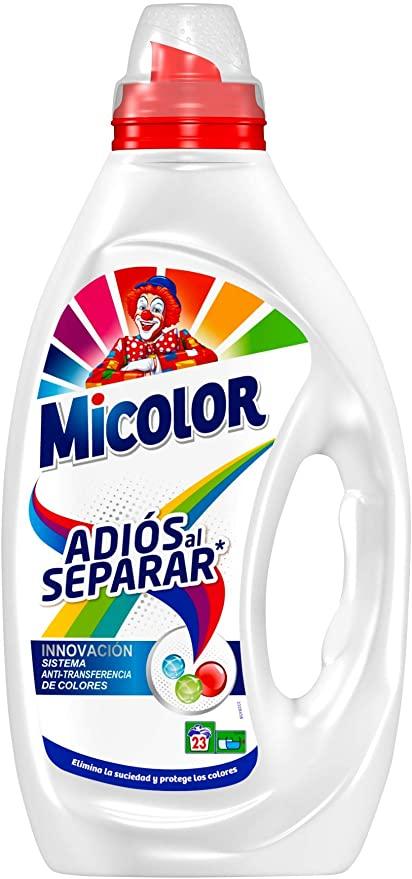 Detergente Micolor Adiós Al Separar