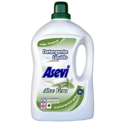 Detergente Asevi Aloe Vera.Droguería online,venta de productos de limpieza de las mejores marcas.Líderes en artículos de limpieza.
