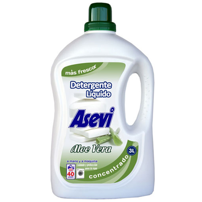 Detergente Asevi Aloe Vera