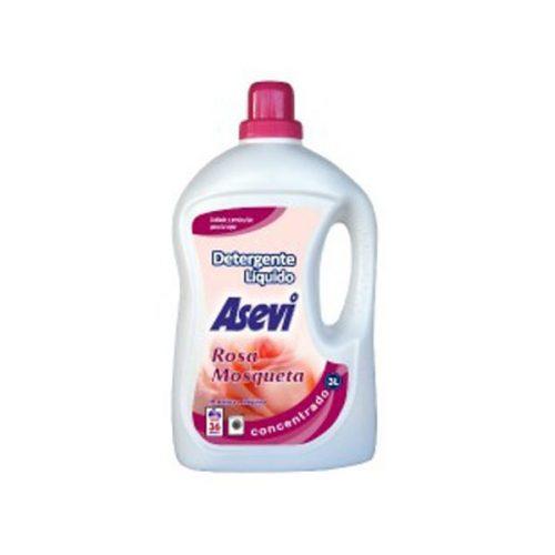 Detergente Asevi Gel Rosa Mosqueta.Droguería online,venta de productos de limpieza de las mejores marcas.Líderes en artículos de limpieza.