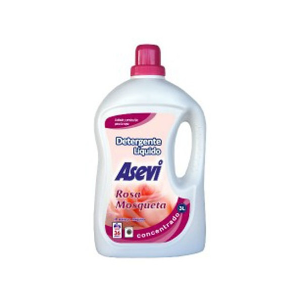 Detergente Asevi Gel Rosa Mosqueta