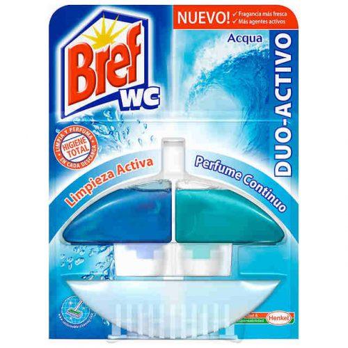 Ambientador bref wc duo acqua.Droguería online,venta de productos de limpieza de las mejores marcas.Líderes en artículos de limpieza.