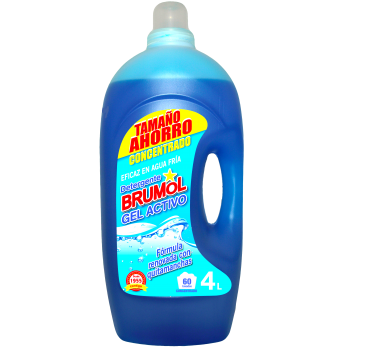Detergente Brumol Gel Activo