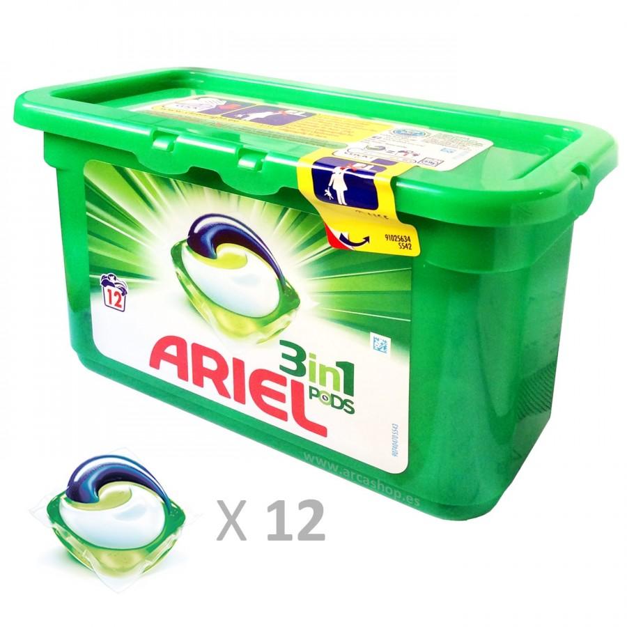 Cápsulas Ariel 3 en 1
