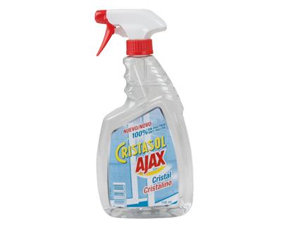 Cristasol Cristalino.Droguería online,venta de productos de limpieza de las mejores marcas.Líderes en artículos de limpieza.