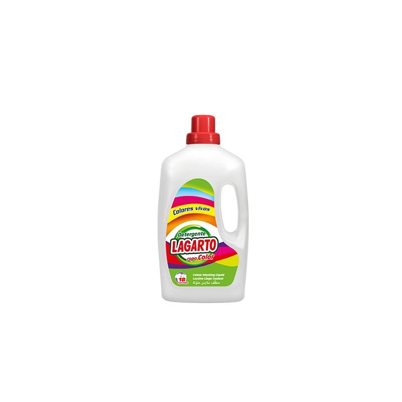 Detergente gel lagarto colores
