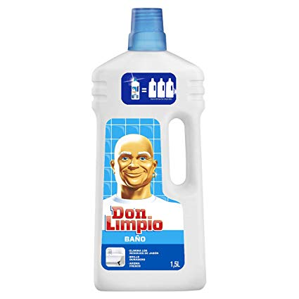 Don limpio baño