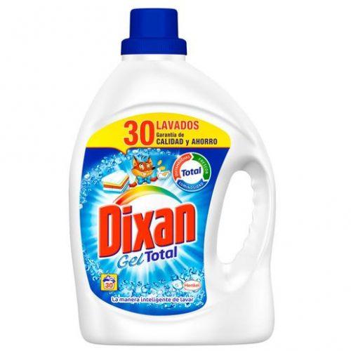 Detergente dixan gel.Droguería online,venta de productos de limpieza de las mejores marcas.Líderes en artículos de limpieza.