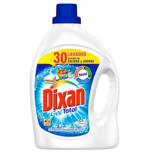 Detergente dixan gel