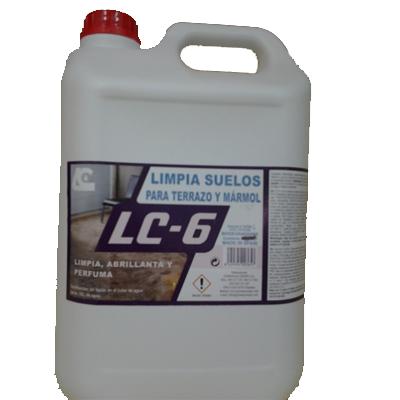 Lc-6 limpia suelos terrazo y mármol 5l
