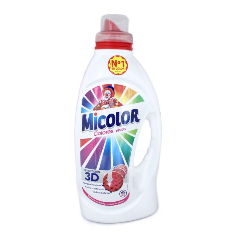 Detergente Micolor Colores Puros