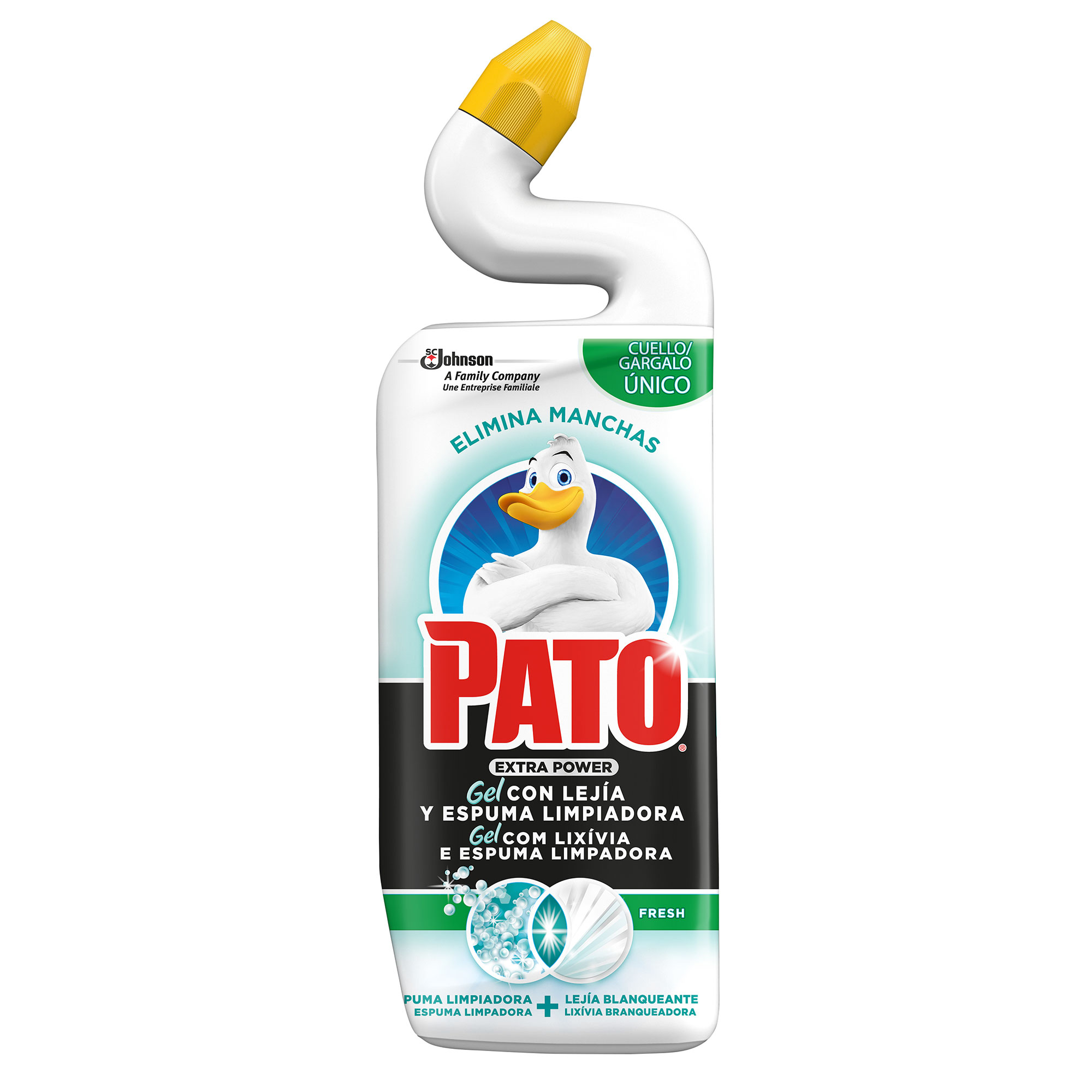 Pato wc gel con lejía