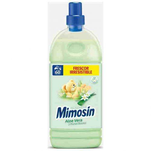 Suavizante Mimosin Aloe Vera.Droguería online,venta de productos de limpieza de las mejores marcas.Líderes en artículos de limpieza.