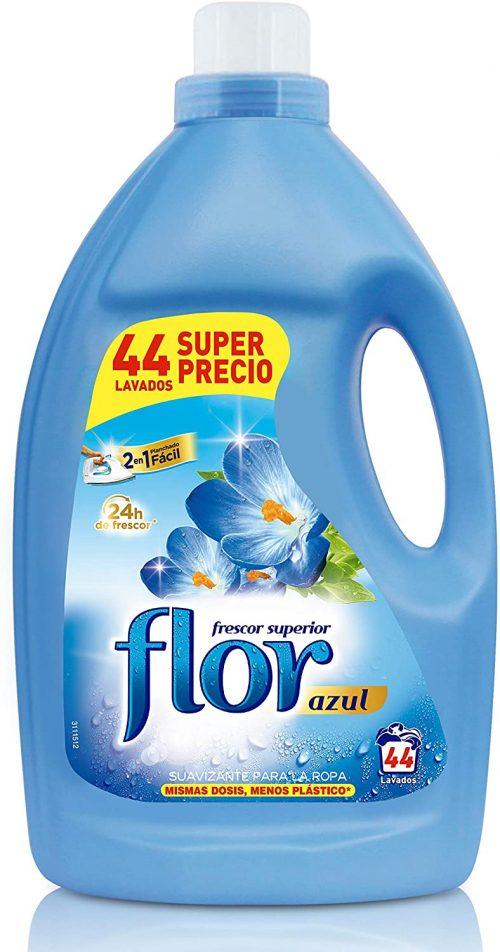 Suavizante Flor Azul.Droguería online,venta de productos de limpieza de las mejores marcas.Líderes en artículos de limpieza.