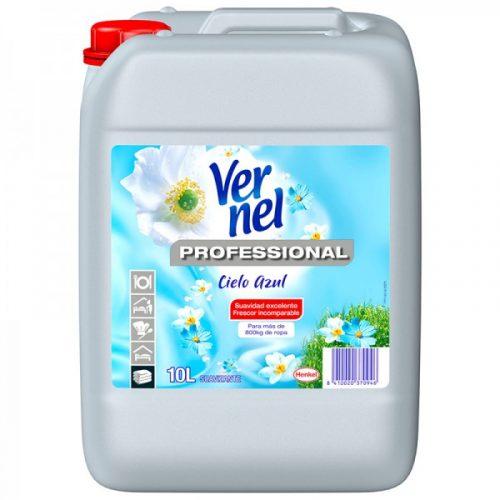 Suavizante vernel cielo azul 10l.Droguería online,venta de productos de limpieza de las mejores marcas.Líderes en artículos de limpieza.