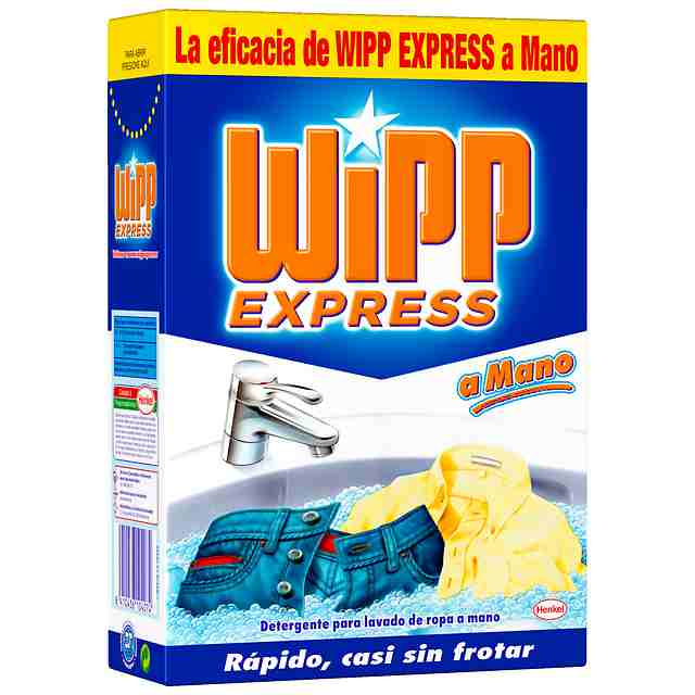 Detergente a mano wipp express