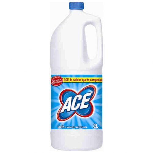 Lejia Ace 2l.Droguería online,venta de productos de limpieza de las mejores marcas.Líderes en artículos de limpieza.