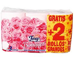Papel higiénico foxy bouquet