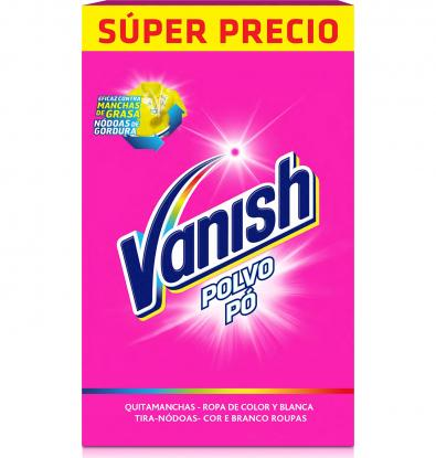 Vanish Polvo.Droguería online,venta de productos de limpieza de las mejores marcas.Líderes en artículos de limpieza.