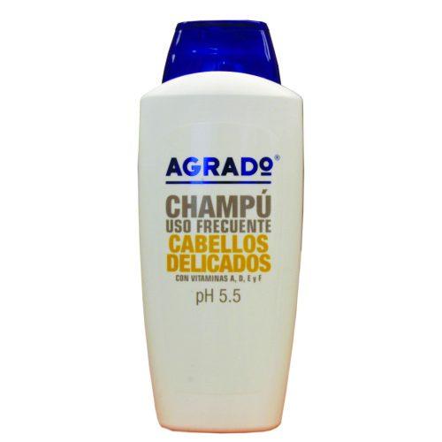 Champú agrado cabellos delicados.Droguería online,venta de productos de limpieza de las mejores marcas.Líderes en artículos de limpieza.