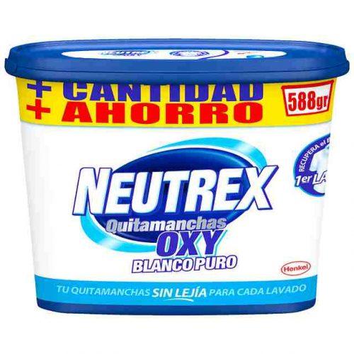 Neutrex Oxy Blanco Puro.Droguería online,venta de productos de limpieza de las mejores marcas.Líderes en artículos de limpieza.