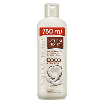 Gel natural honey coco addiction