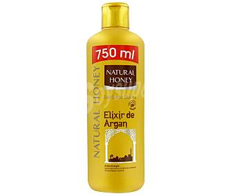 Gel natural honey  argan