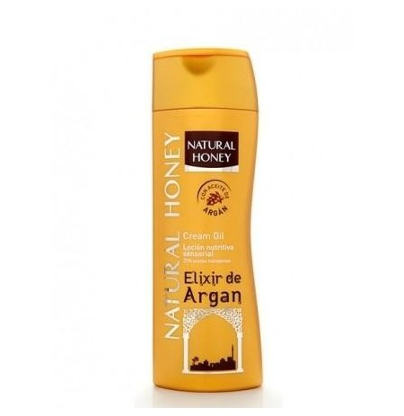 Body milk natural honey  argan