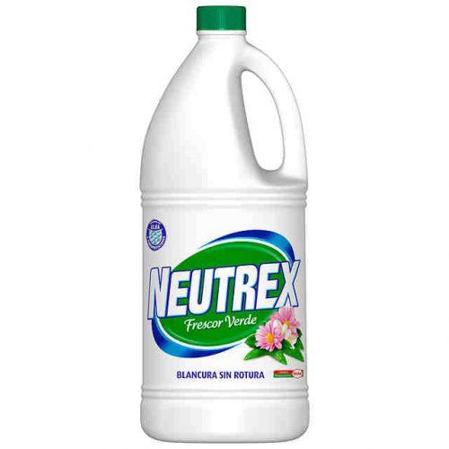 Lejia NeutrexFrescor Verde 2l.Droguería online,venta de productos de limpieza de las mejores marcas.Líderes en artículos de limpieza.