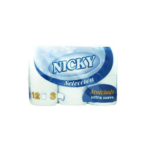 Papel higiénico nicky selección