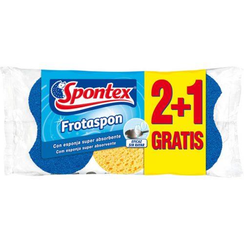 Estropajo Spontex Frotaspon.Droguería online,venta de productos de limpieza de las mejores marcas.Líderes en artículos de limpieza.