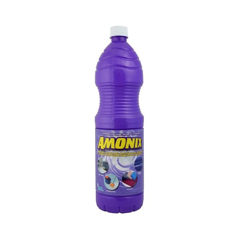 Amoniaco con detergente amonix