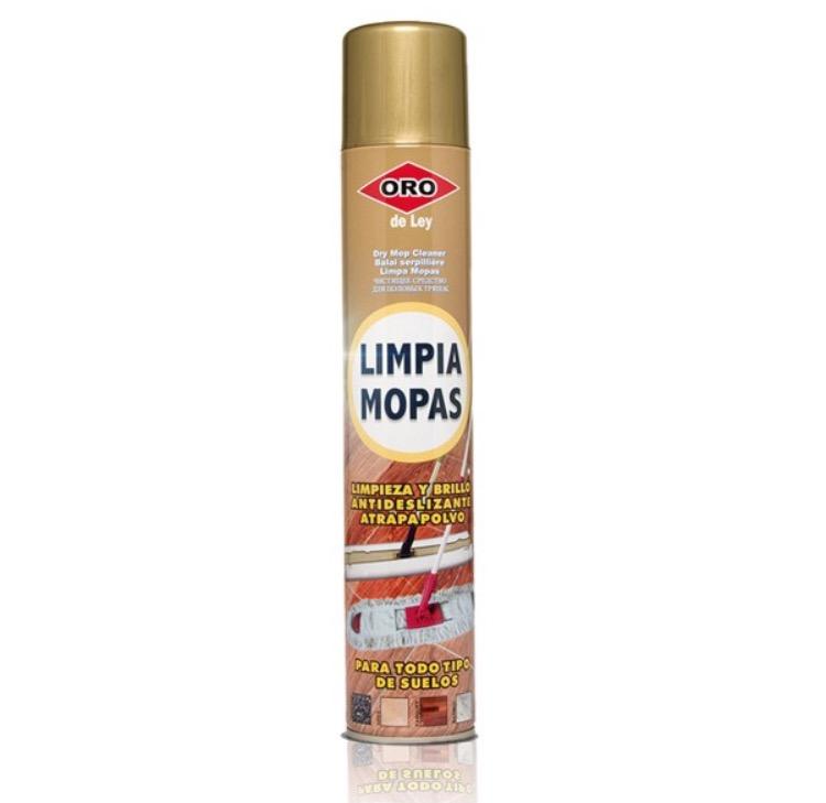 Limpiador mopa abrillantador oro
