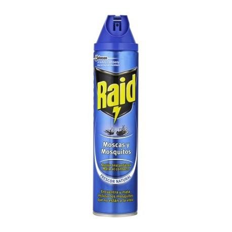 Insecticida Raid Instantánea.Droguería online,venta de productos de limpieza de las mejores marcas.Líderes en artículos de limpieza.