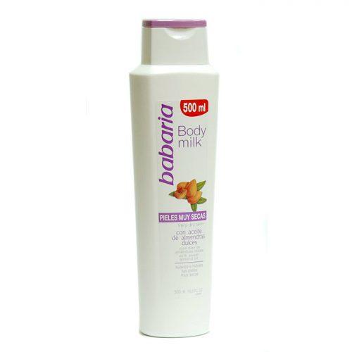 Body milk pieles muy secas babaria.Droguería online,venta de productos de limpieza de las mejores marcas.Líderes en artículos de limpieza.