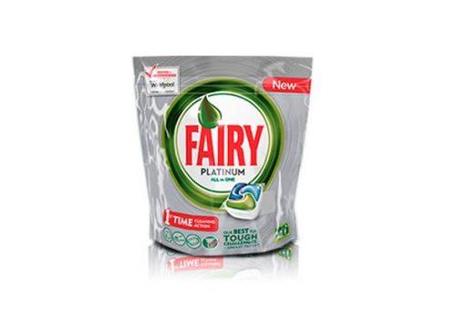 Fairy Platinum 14 Cap.Droguería online,venta de productos de limpieza de las mejores marcas.Líderes en artículos de limpieza.