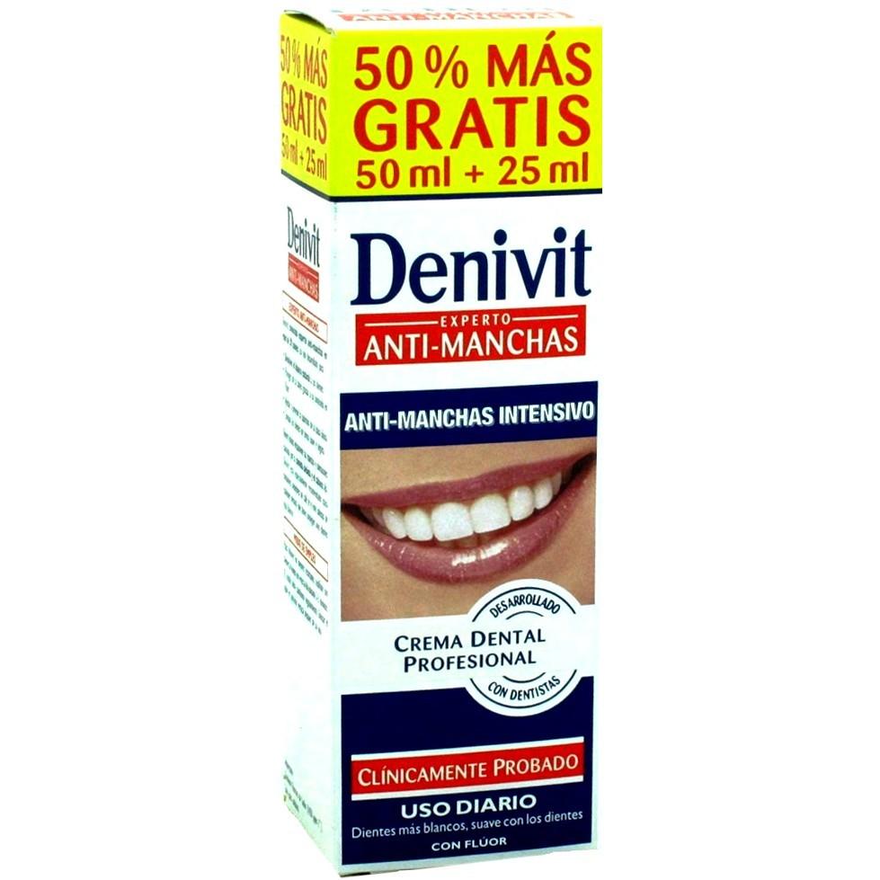 Dentífrico denivit anti-manchas intensivo