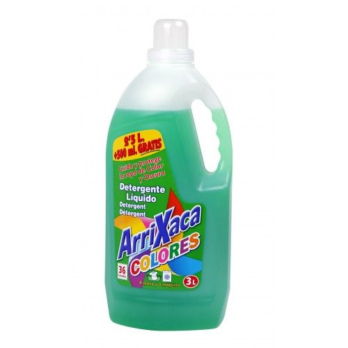 Detergente arrixaca colores.Droguería online,venta de productos de limpieza de las mejores marcas.Líderes en artículos de limpieza.