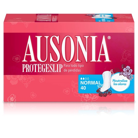 Protegeslip Ausonia Normal.Droguería online,venta de productos de limpieza de las mejores marcas.Líderes en artículos de limpieza.