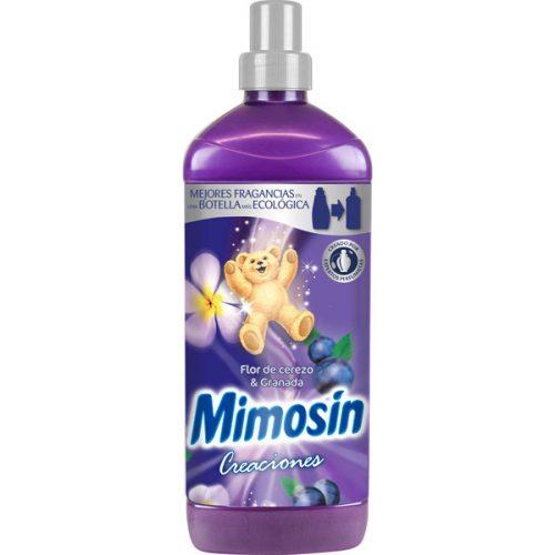 Suavizante Mimosin Creaciones Flor De Cerezo Y Granada.Droguería online,venta de productos de limpieza de las mejores marcas.Líderes en artículos de limpieza.