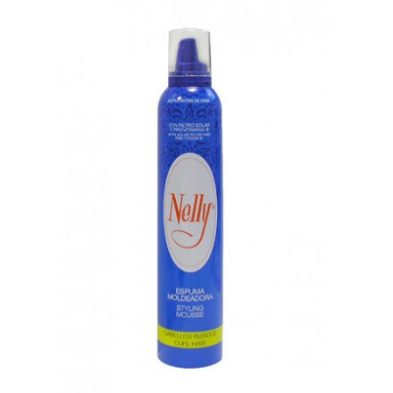 Espuma Nelly Rizos.Droguería online,venta de productos de limpieza de las mejores marcas.Líderes en artículos de limpieza.