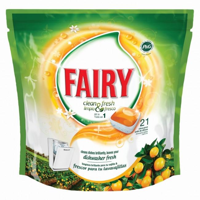 Lavavajillas Fairy  Citrico 31 cap