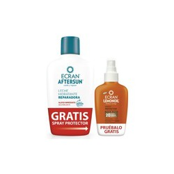 Ecran aftersun + ecran spray protector