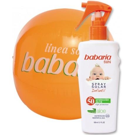 Spray solar infantil babaria