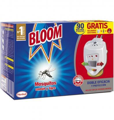 Insecticida mosquitos con aparato bloom